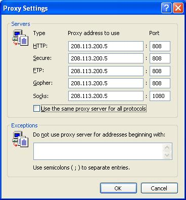 SOCKS Proxy Lists - Samair Security