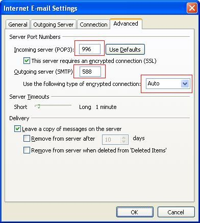 Hotmail outlook settings - Outlook express port settings ...