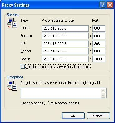 How to Proxy Server - How to Proxy Server for IE, Firefox