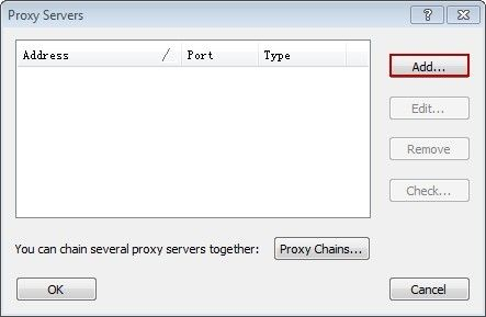 How to Configure Proxifier to Work with the Proxy Server