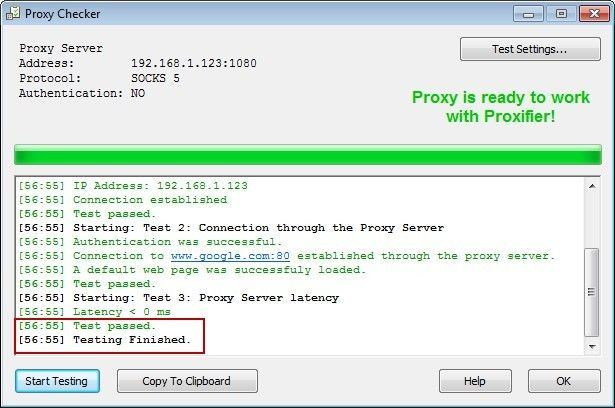 How to Configure Proxifier to Work with the Proxy Server Software