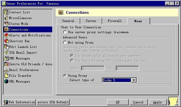 Icq Chat Room Server Address