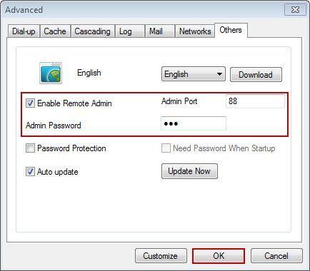 Remote Admin