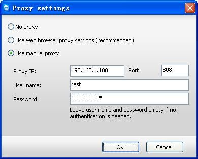 How to make proxy settings for teamviewer on client side for Proxe vigila 3 manuale