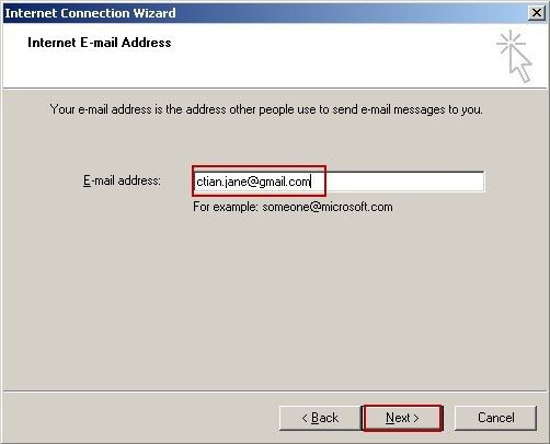 Internet E-mail Address